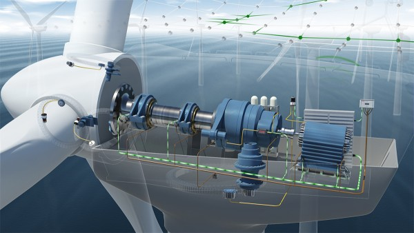 Prediktivní údržba 4.0 pro větrnou elektrárnu