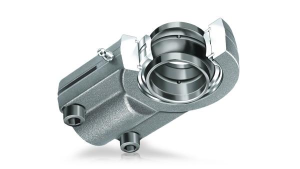 Spherical plain bearings requiring maintenance