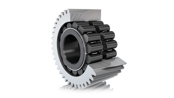 FAG X-life high-capacity cylindrical roller bearing (direct bearing support)