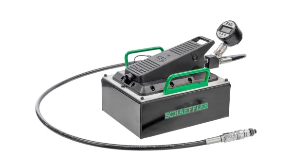 The Schaeffler computer program Mounting Manager is a user-friendly aid for ensuring the correct mounting of bearings with tapered bore.
