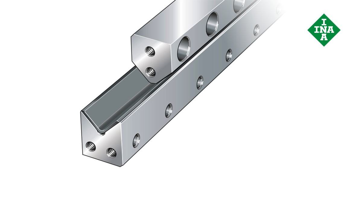 Schaeffler linear guides: M guideways with plain sliding layer and V guideways