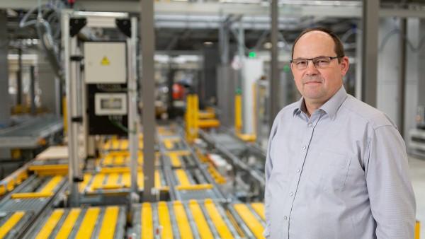 Egon Grief, vedoucí údržby centra EDZ-střed společnosti Schaeffler