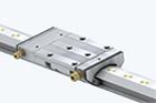 Lineární vedení s hydrostatickým kompaktním vedením